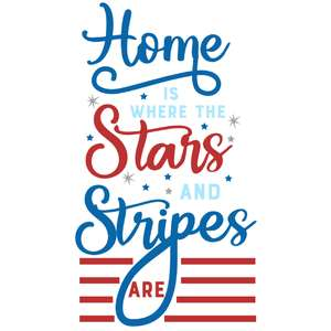 home where stars and stripes are