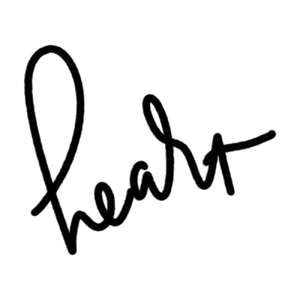 heart word art