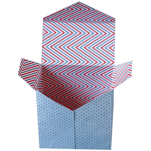 envelope flap favor + treat box