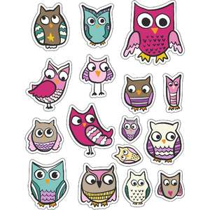 ml autumn owls stickers