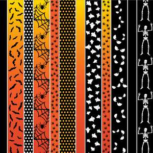 halloween washi borders planner stickers