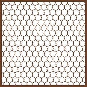 chicken wire background