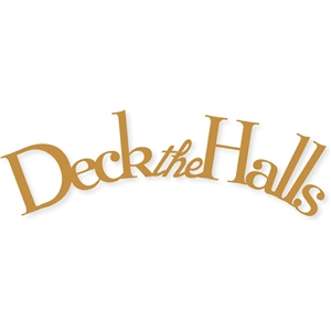 arched 'deck the halls'