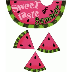 sweet taste of summer title piece print and cut