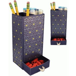 3d pencil storage w drawer