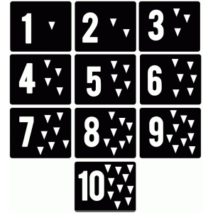 number flashcard puzzle