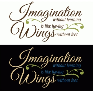 imagination without learning