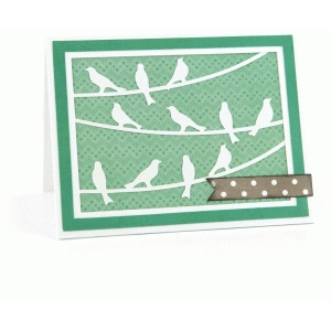a2 birds on a wire card