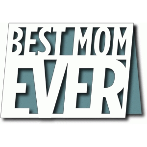 best mom ever a2 card