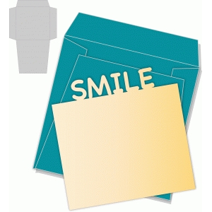 smile card/envelope