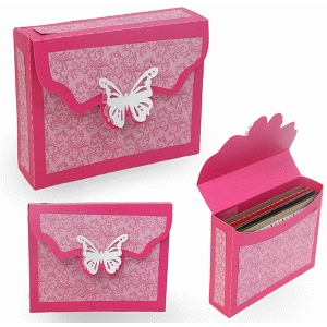 open when-5-10 a2 envelope box butterfly flap