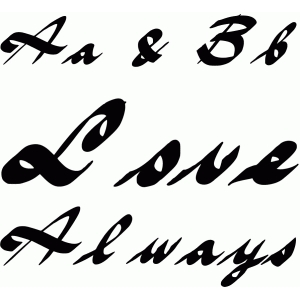 love always font