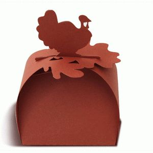 turkey favor box