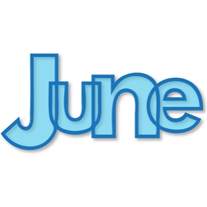 'june' outline