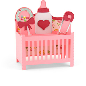 baby crib box card
