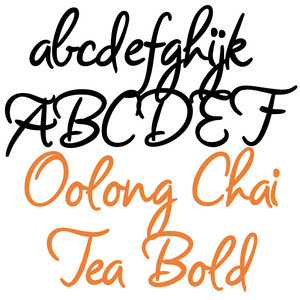 snf oolong tea bold