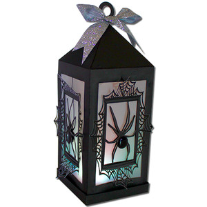 spider web lantern (flameless)