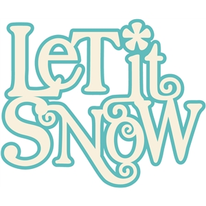 'let it snow' title