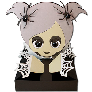 vampire girl hug treat box