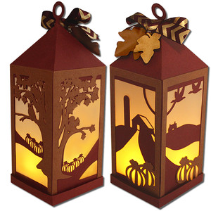 pumpkin patch lantern (flameless)