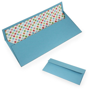 #10 square business sized envelope