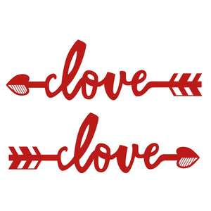 love phrase arrows