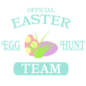 official easter egg hunt team