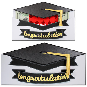 graduation hat pocket gift card