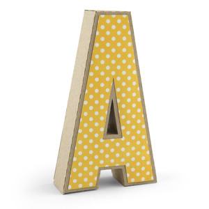 3d Alphabet Letter A