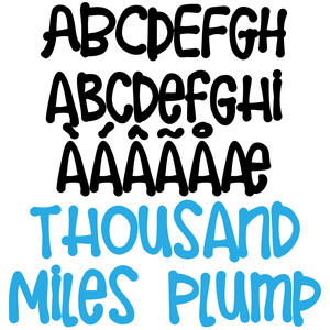 zp thousand miles plump