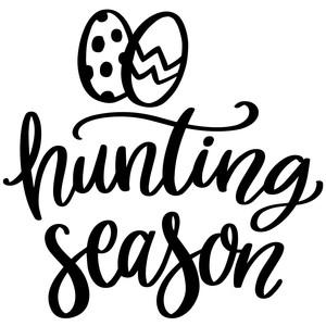 hunting season easter eggs