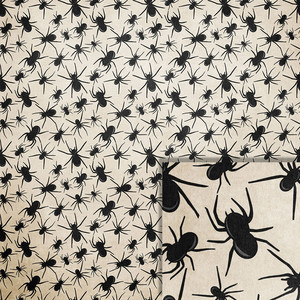 halloween spider background paper