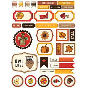 ml thanksgiving stickers