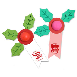 holly lip balm
