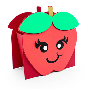 cute apple box