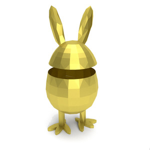 3d easter dude