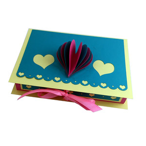 heart-themed, book-look box