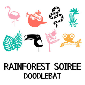 rainforest soiree doodlebat