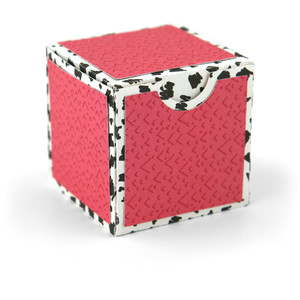 2 on 12x12 no glue square box