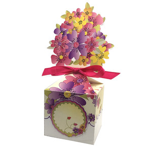 purple-pink floral larger anything box