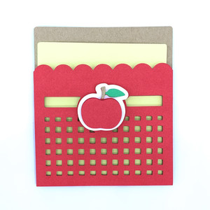 apples and scallops card