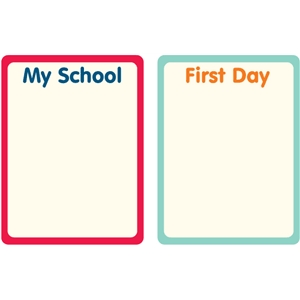 back to school journaling cards