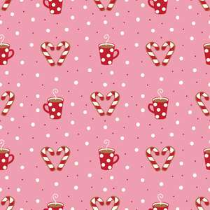 holiday candy canes pattern