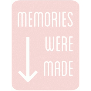memories were made 3x4 life card