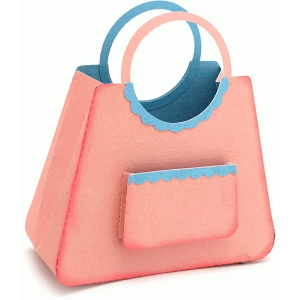 purse trapezoid with pocket