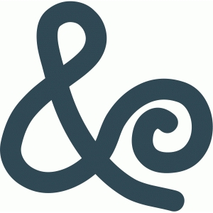 homespun ampersand
