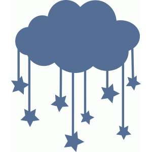cloud with stars