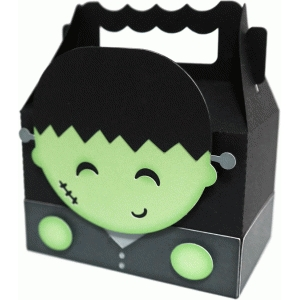 cute frankenstein box