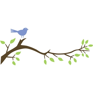 bird on branch