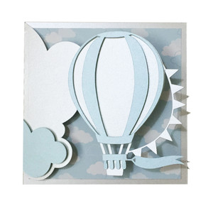 air balloon card